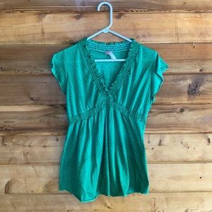 Julie's Closet Maternity Short Sleeve Top